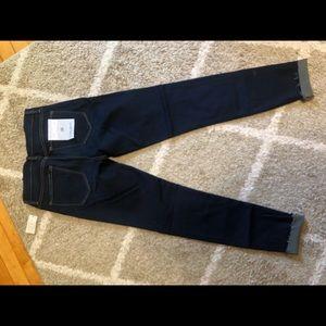 Flying Monkey Platinum raw hem jeans! NWT!